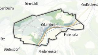 Karte / Orlamünde