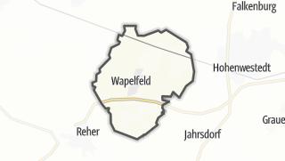 Karte / Wapelfeld