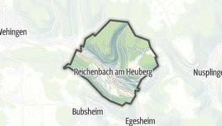 Mapa / Reichenbach am Heuberg