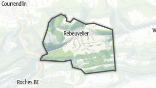 Mapa / Rebeuvelier