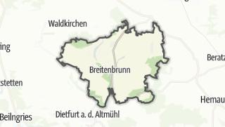 Mapa / Breitenbrunn