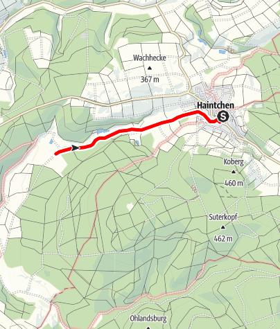 Karte / H7 Haintchen - Hubertushof