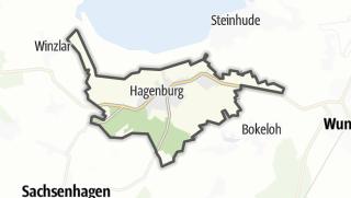 Mapa / Hagenburg