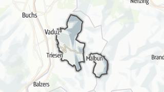 Térkép / Triesenberg