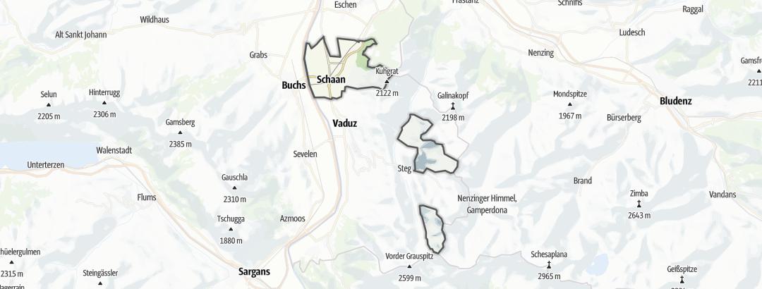 Kart / Mat og drikke i Schaan