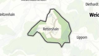Cartina / Rettershain