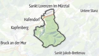 Cartina / Sankt Marein im Mürztal