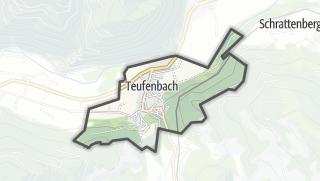 Mapa / Teufenbach