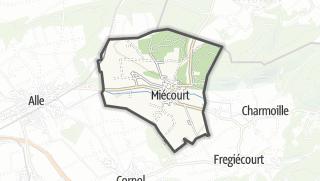 מפה / Miécourt