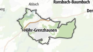 Mapa / Höhr-Grenzhausen
