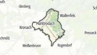 Mapa / Marktrodach