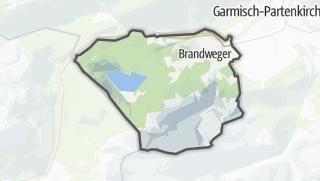 Karte / Grainau
