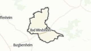 地图 / Bad Windsheim