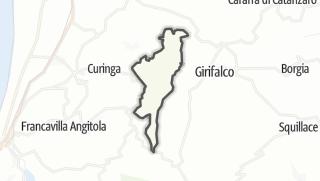 Mapa / Jacurso