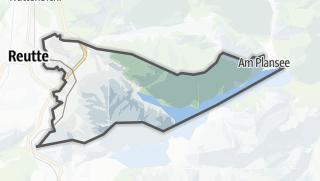 Karte / Breitenwang