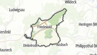 Karte / Friedewald