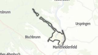 Cartina / Hafenlohr