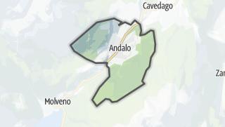 Karte / Andalo