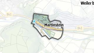 Karte / Martinstein