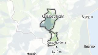 Hartă / Casasco d'Intelvi
