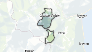 Kartta / Casasco d'Intelvi