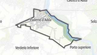 地图 / Paderno d'Adda