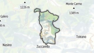 Map / Castelvecchio di Rocca Barbena