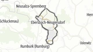 מפה / Ebersbach-Neugersdorf