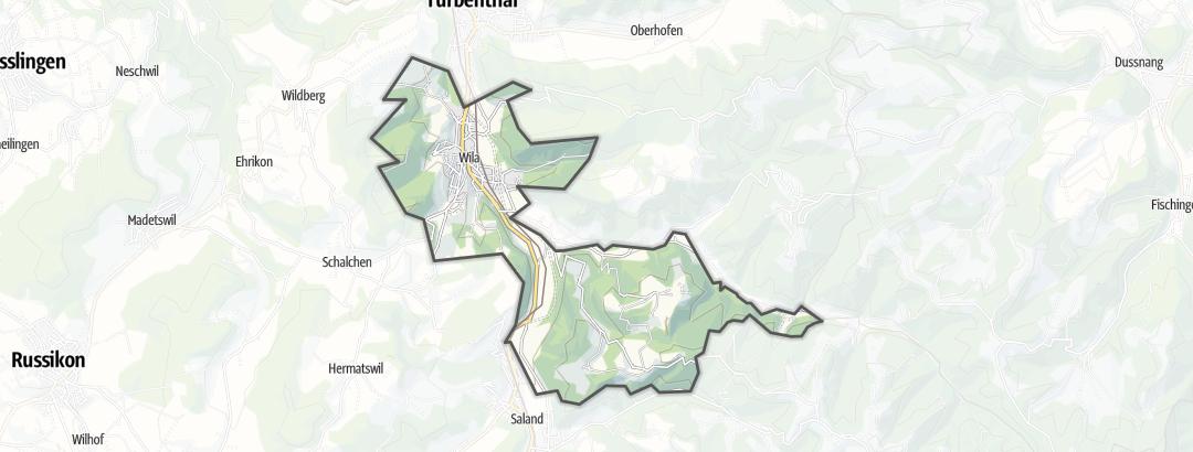 Mapa / Senderismo en Wila