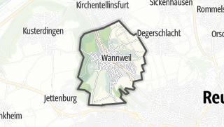 地图 / Wannweil