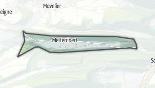 Mapa / Mettembert