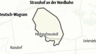 Cartina / Markgrafneusiedl