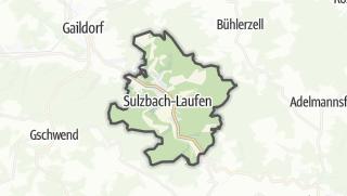 מפה / Sulzbach-Laufen