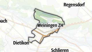 Carte / Weiningen (ZH)