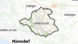 Carte / Oetwil am See