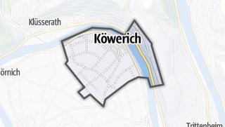 Karte / Köwerich