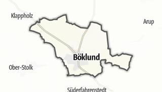 Cartina / Böklund