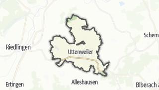 地图 / Uttenweiler