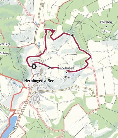Karte / Hechlingen Rundweg 17