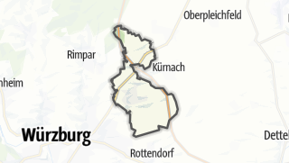 Mapa / Estenfeld