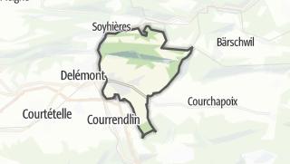 Mapa / Courroux