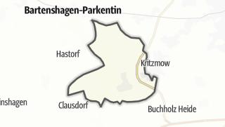 מפה / Stäbelow