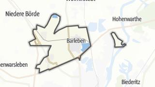 地图 / Barleben
