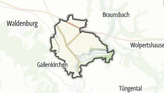 מפה / Untermünkheim