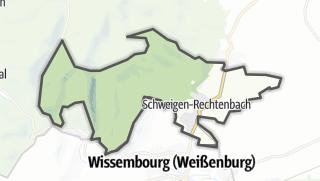 Mapa / Schweigen-Rechtenbach