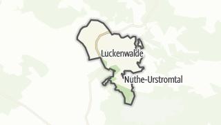 Cartina / Luckenwalde