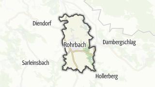 地图 / Rohrbach in Oberoesterreich