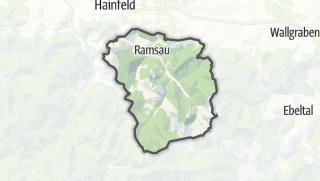 Mapa / Ramsau