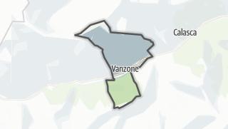 מפה / Vanzone con San Carlo