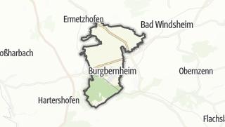 地图 / Burgbernheim